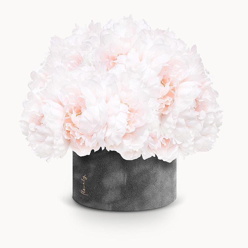 piwonie flower box