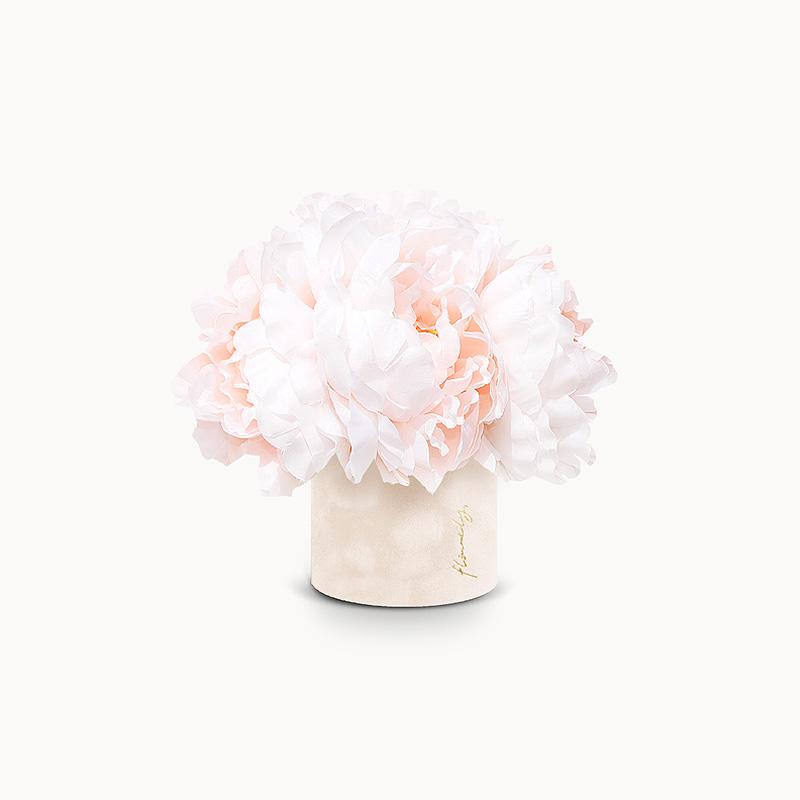 Flowerbox z piwoniam