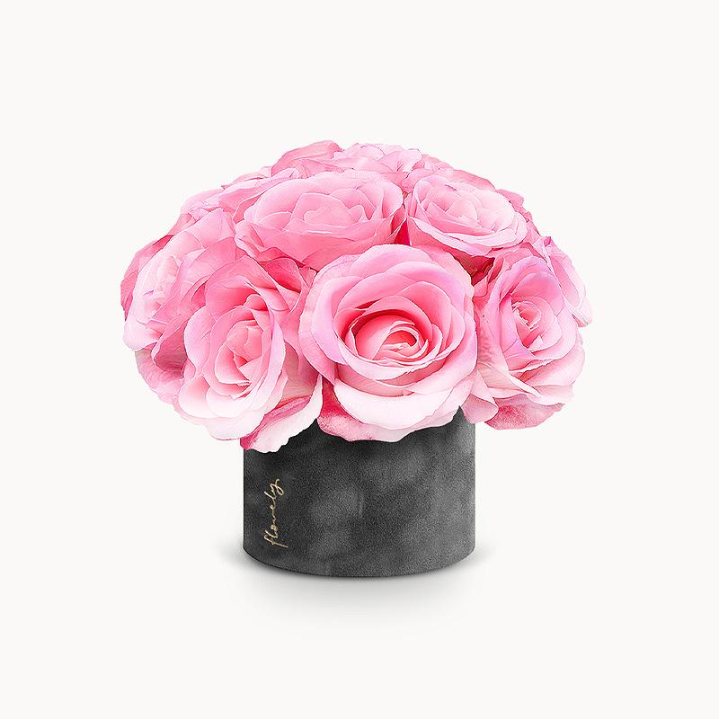 flowerbox z róż