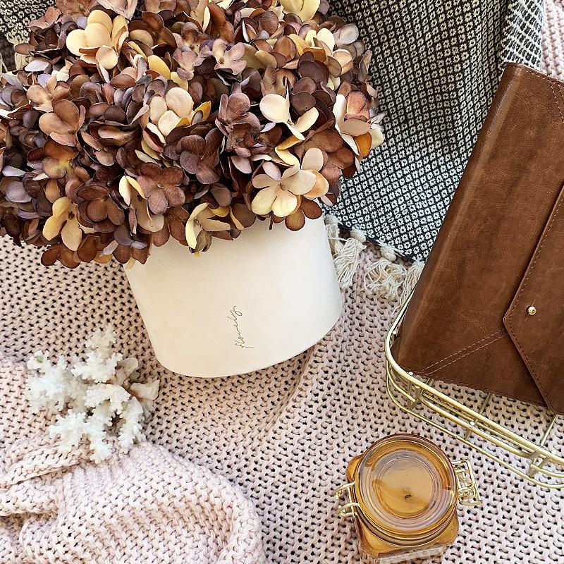 flowerboxy z hortensjami
