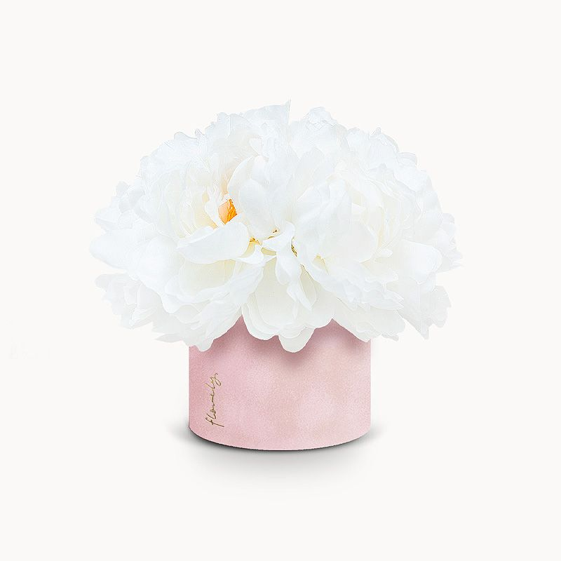 flowerbox piwonie