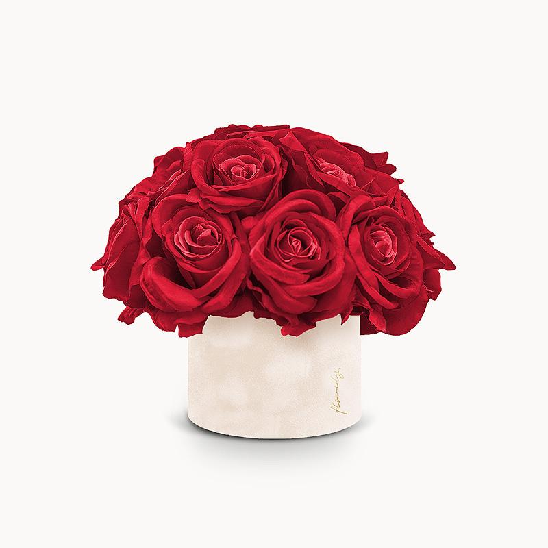 flower box na walentynki