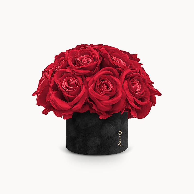 prezent dla niej flower box