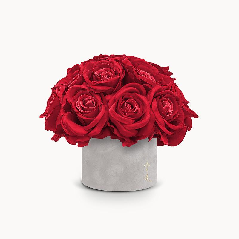 prezent na walentynki flower box