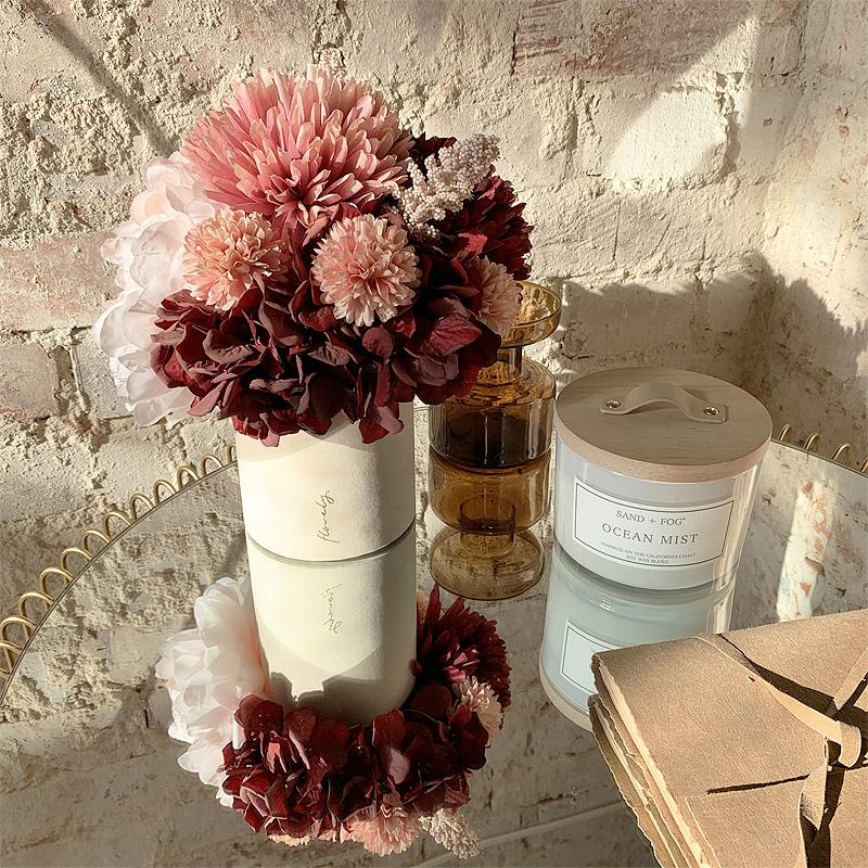 flower box jesienny