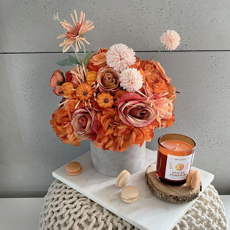 pomarańczowy flowerbox