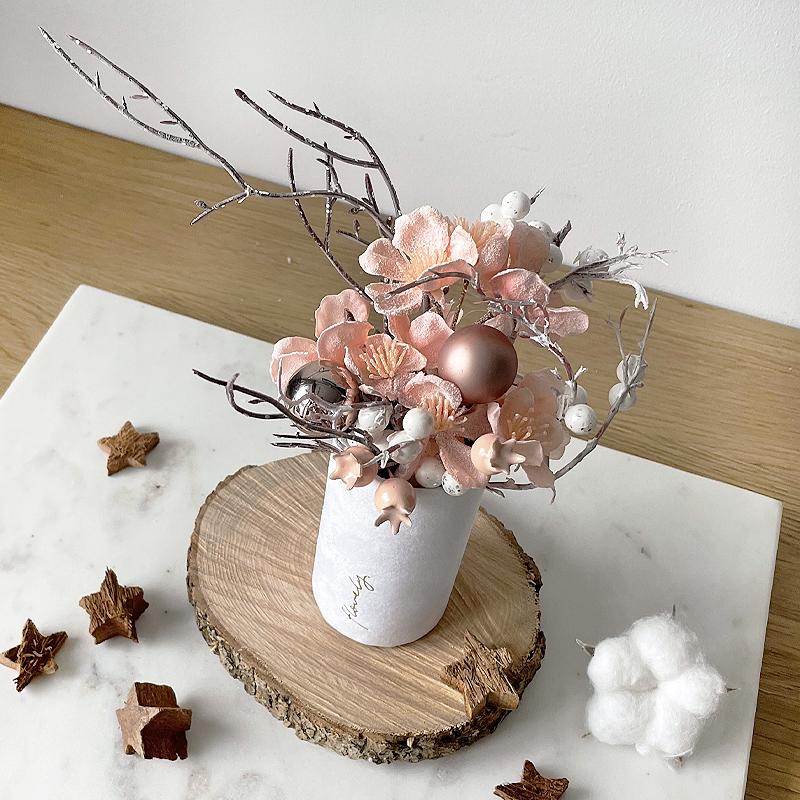 zimowy flowerbox