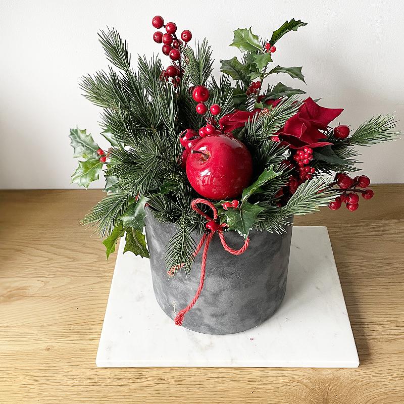 świąteczny flower box