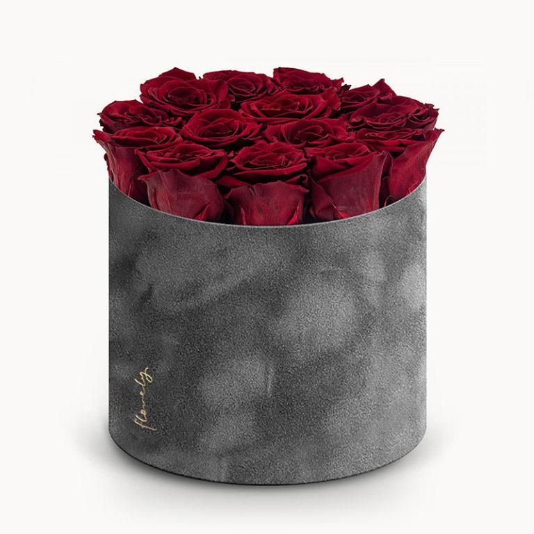 wieczne roze flower box