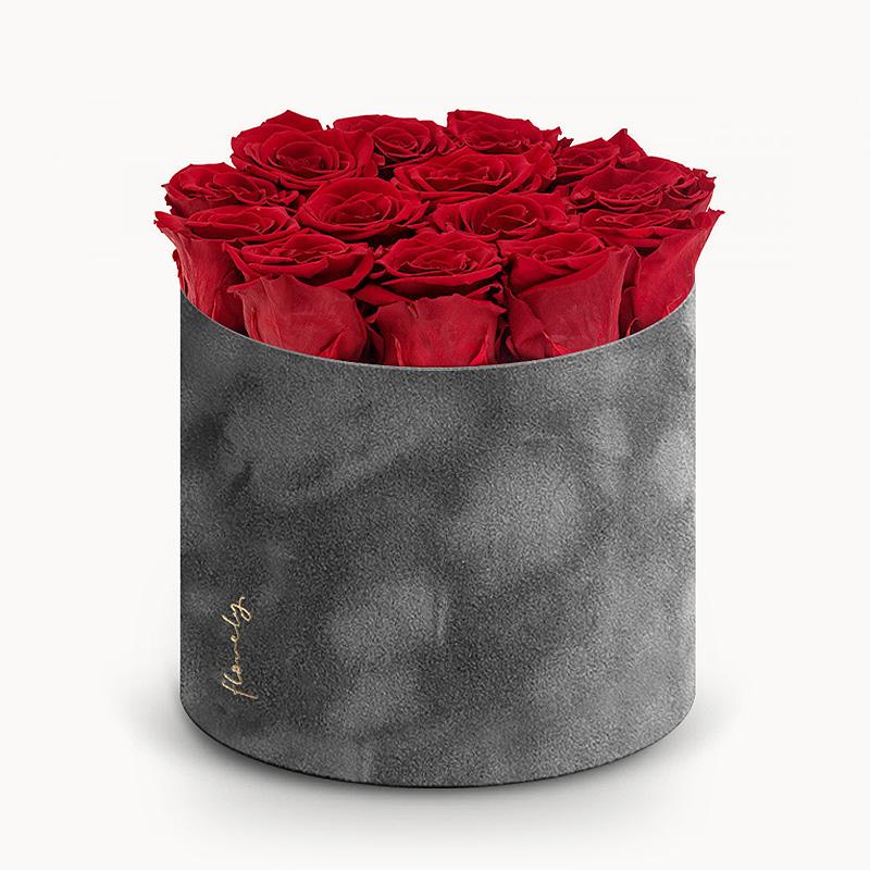wieczne róże w pudełku