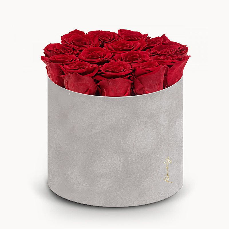 wieczne róże flowerbox