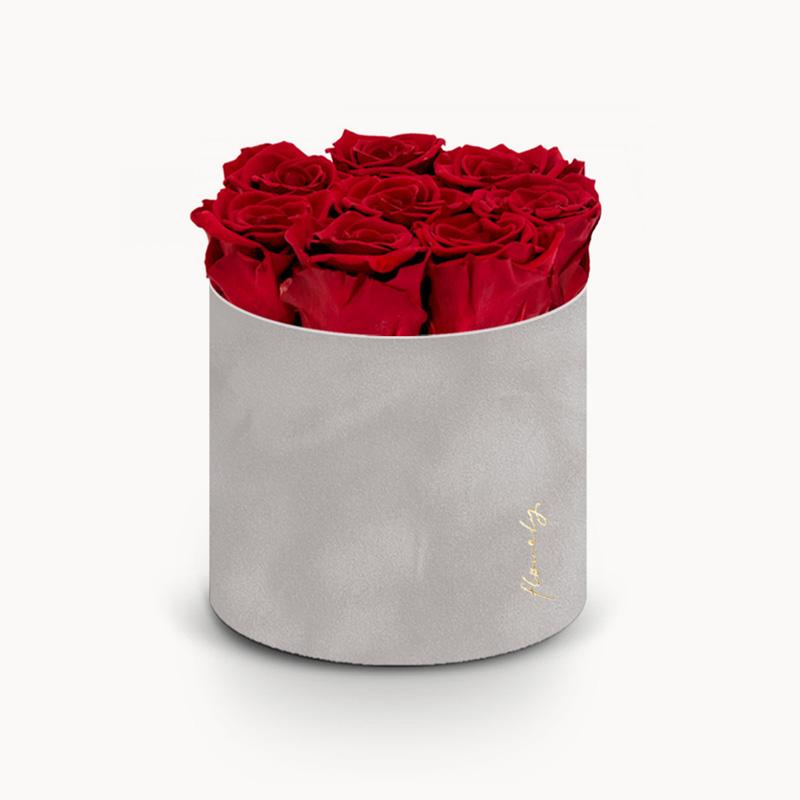 czerwona wieczna róża