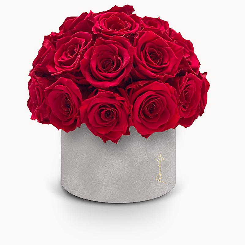 walentynki pomysl na prezent flower box