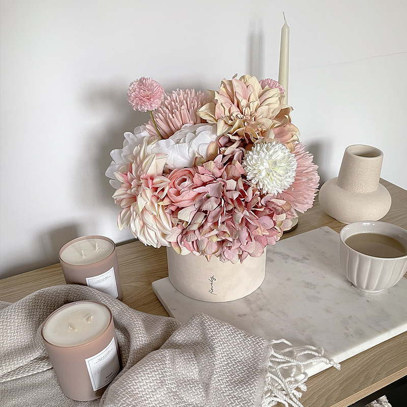 flower box jesień